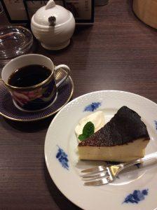 バスクのチーズケーキ